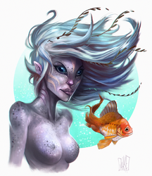 Mermaid by JakkeV