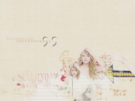 2011 acm taylor color by AshleyJoker