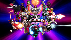 MMD Touhou Smash Bros 4 Title Ver. 3 by headstert