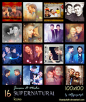 SPN - Jensen and Misha (Icons) by lilyanjudyth