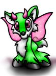 Kirlili the Ixi -Neopet- by papersak