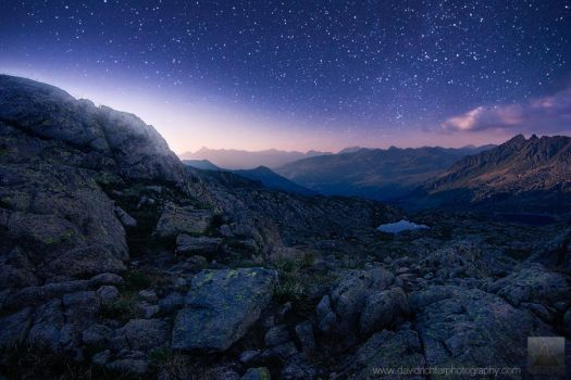 Alpine Firmament by davidrichterphoto