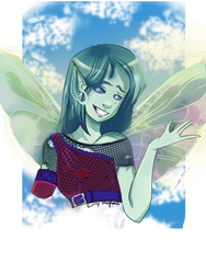Pixie OC +Commission+ by EmmersDrawberry