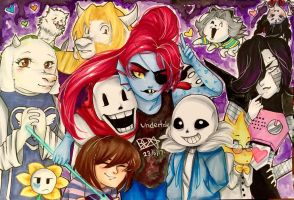 Undertale by Brookestar4