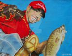 Mike Iaconelli by ManHoPark