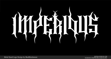 IMPERIOUS Band Logo by modblackmoon