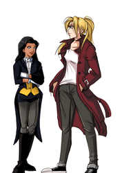 Young Justice Dark: Sisters by FFiamgoku