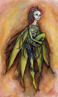Green Onion Faery by gpalmer