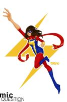 Ms. Marvel by micQuestion