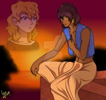 Waiting For You (Prince SomaxLisabeth) by FlosSapientiae