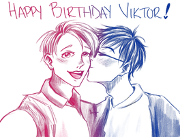 Happy Birthday Viktor Nikiforov! by booklover4life
