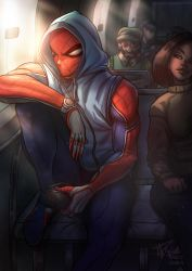 Day Off - Spiderman (+Speed painting video!) by RamzyKamen