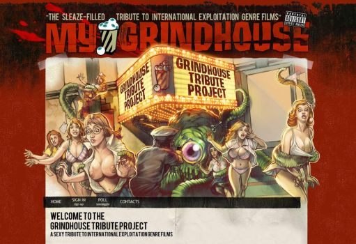 My GrindHouse Tribute Project by WacomZombie
