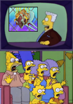 Simpsons Reaction To Patty by Prentis-65