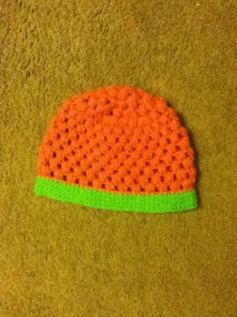 .:CUSTOM COMMISSIONED PUFF STITCH HAT:. by Suskygirl