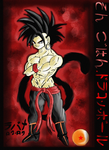 Color test with Gohan by Lavana46