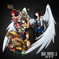 DF II: Square Enix Girls by isaiahjordan