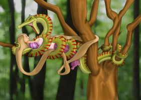 Rapunzel Nommed Final by Silrath