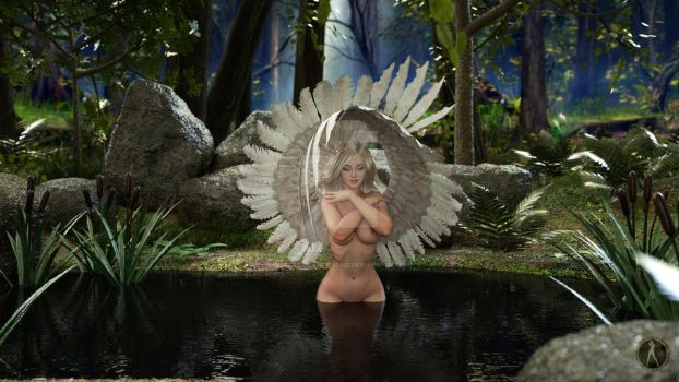 Digital Beauty Series - My Dream AngeL (July19) by Digital-Beauty-Serie