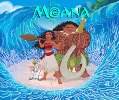 Moana by Nippy13