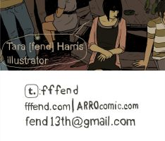business card by fend