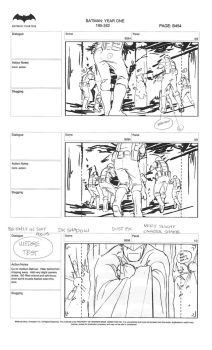 Batman Year One storyboards pt2 by ZWYER