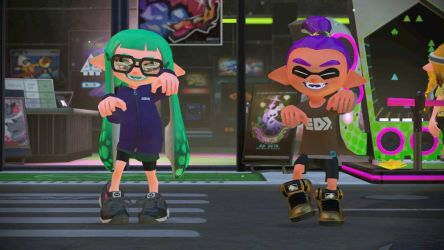 Playing Splatoon 2 but not Really by fluffyfox99