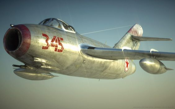 Norh Korean Knight (in shining armor) - Mig15 by bazze