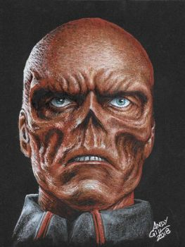 RedSkull 2 by AndyGill1964