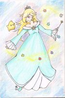 Rosalina and Luma by starmakeawishgirl