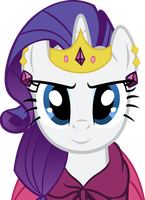 Rarity At the Gala Vector by Alexstrazse