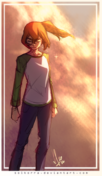 The Decision of Pidge/Katie Holt by SolKorra