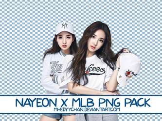 [render #70] TWICE Nayeon x MLB PNG Pack by MhedyyChan