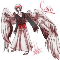 Cain Complex full body sketch  by DrawerMich