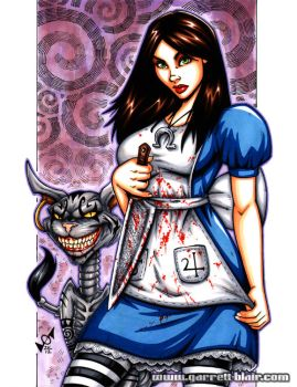 Alice Madness Returns commission by gb2k