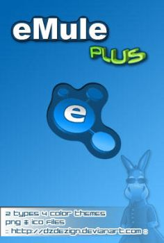 eMule Plus DockIcons by dzdezign