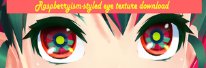 Raspberrysim-styled eye texture download by ReggieAndCheese