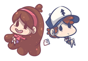 the pines twins by candystartrees