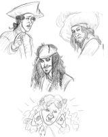 PotC Sketches by MWaters