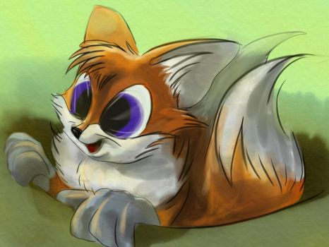 Baby Tails by Mimumik