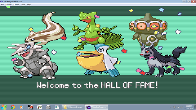 My Pokemon Emerald Team by LeaderZ