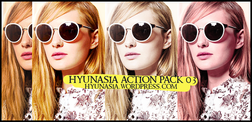Action Pack 03 by hyunasia