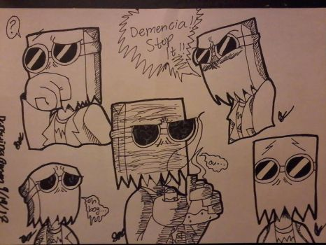 Dr. Flug ~ Sketch Dump by WardenDarkwingArtist