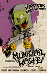 Municipal Waster Tour Poster by luvataciousskull