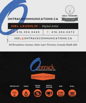 Ontrack Communications B Cards by octaine