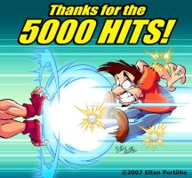 Thanks for the 5000  hits by eltonpot