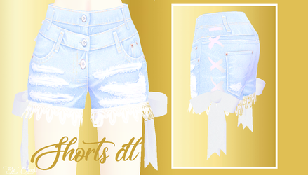 Shorts for MMD - DL by Clyriss