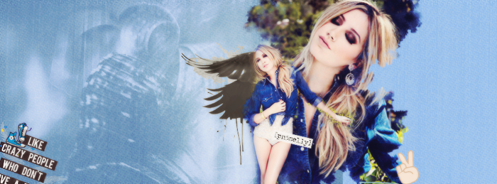 Ashley Tisdale Facebook Cover by Pn5Selly