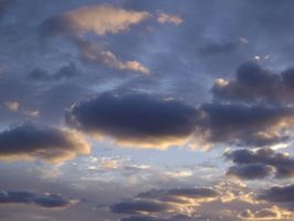 Evening Cloud Cover by Cloudcrossing