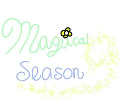 Magical Season Logo  by DreamNotePrincess